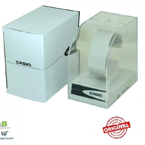 CASIO ORIGINAL WATCH GIFT BOX WITH STAND