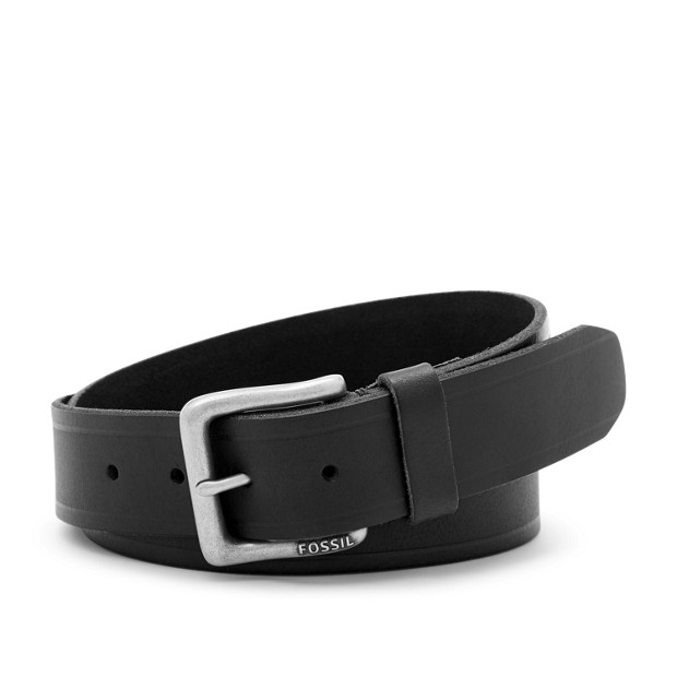 Fossil Original Mens Kit Belt Black MB1035001