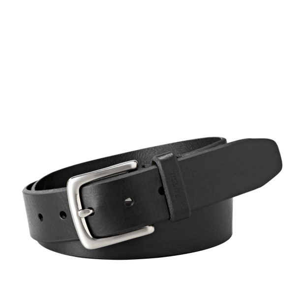 Fossil Original Mens Joe Belt Black MB1252001