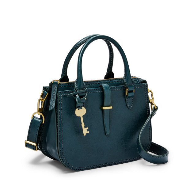Fossil Ryder Mini Satchel Indian Teal ZB7587380