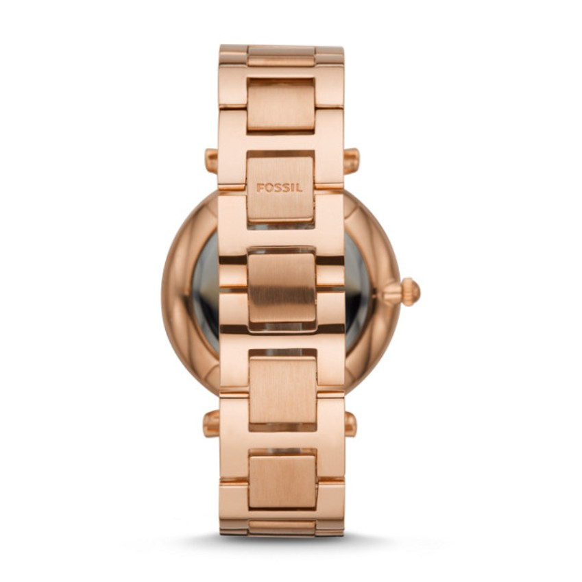 Fossil ES4542  Carlie Multifunction Rose Gold-Tone Stainless Steel Watch
