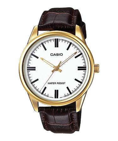Casio MTP-V005 Leather Series Original & Genuine Watch