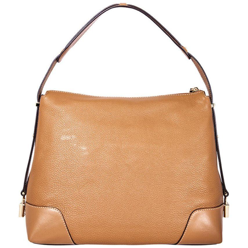 9878d08c8974 Michael Kors Crosby Large Pebbled Leather Shoulder Bag - Acorn  30H8GCBL3L-203