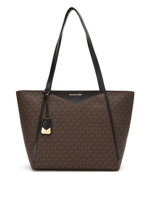 Michael Kors Whitney Large Logo Tote Bag - Brown 30S8GN1T3B-292
