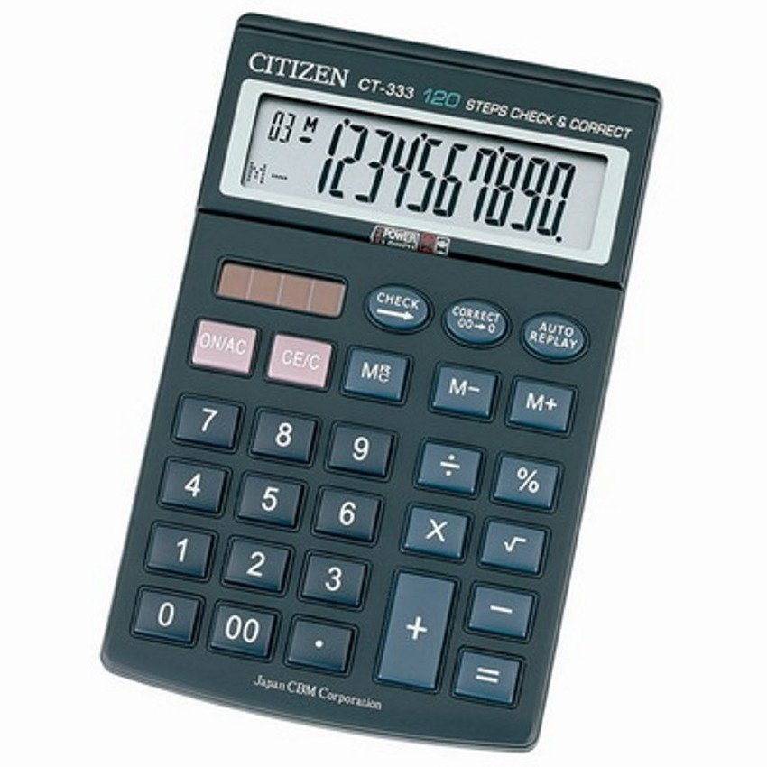 Citizen CT-333 - Citizen calculator