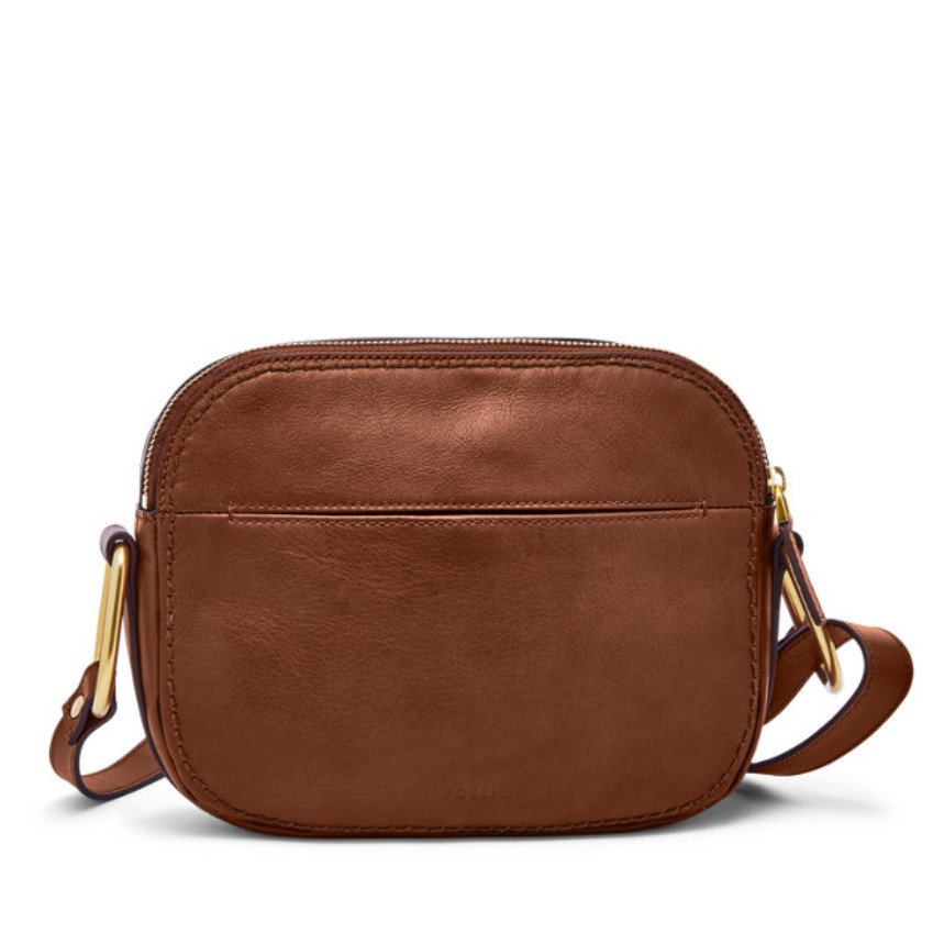 Fossil Women's Elle Crossbody Brown ZB7719200