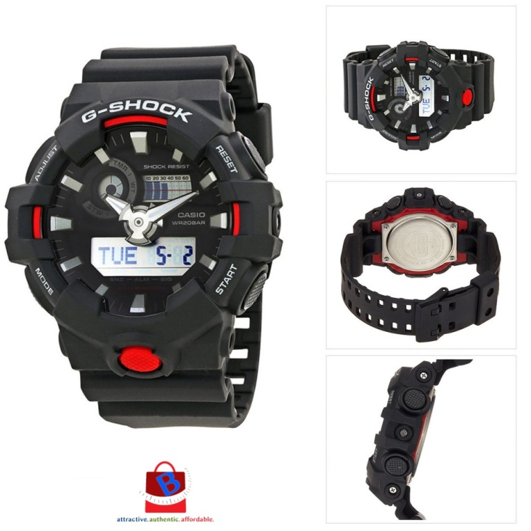 Casio G-Shock GA-700-1A Original & Genuine Men's Watch GA-700 / GA-700-1 / GA-700-1ADR / 700