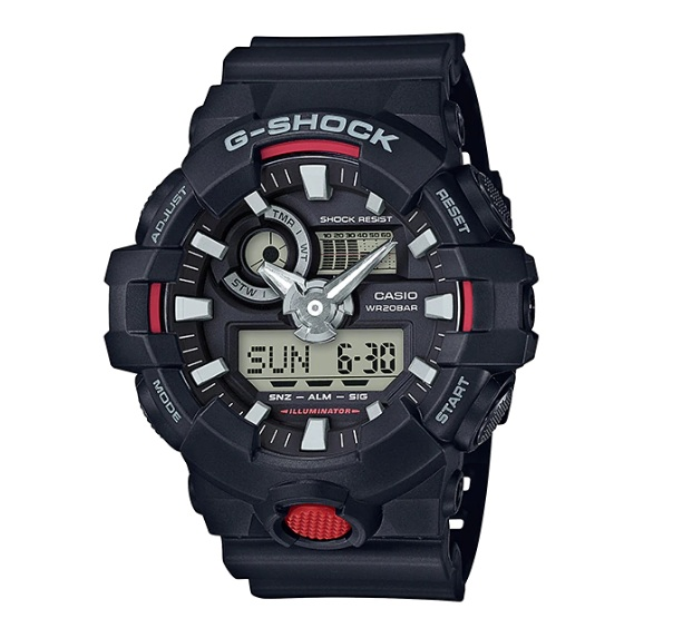 Casio G-Shock GA-700-1A Original & Genuine Men\'s Watch GA-700 / GA-700-1 / GA-700-1ADR / 700