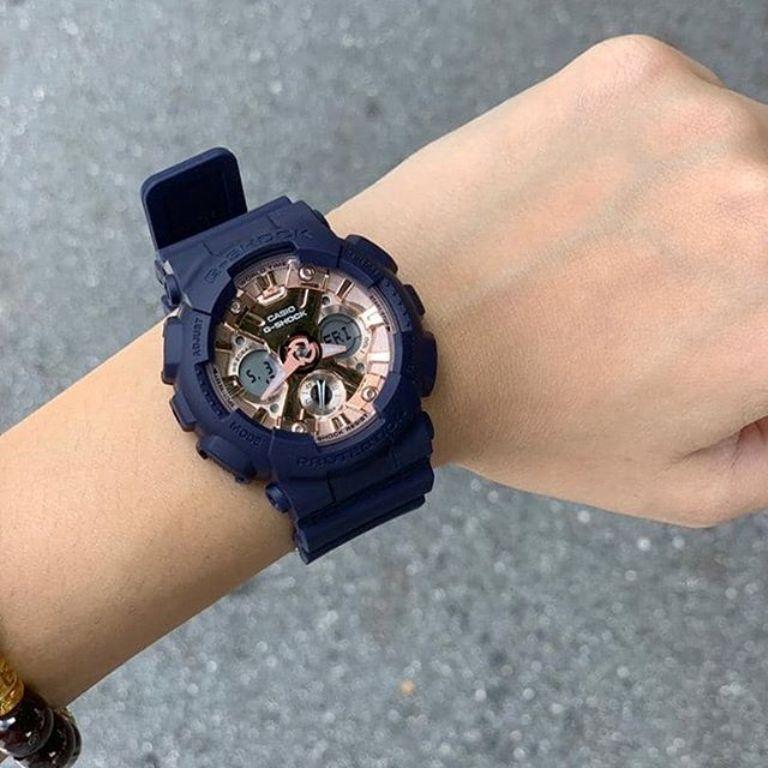 Casio G-Shock S Series GMA-S120MF-2A2DR Watch Navy Blue GMA-S120MF / GMA-S120MF-2A2 / GMA-S120MF-2A / 120