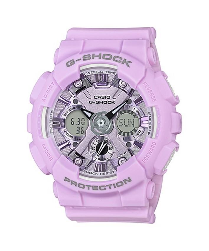 Casio G-Shock GMA-S120DP-6ADR S-Series Original Women\'s Watch GMA-S120DP-6A / GMA-S120DP-6 / GMA-S120DP