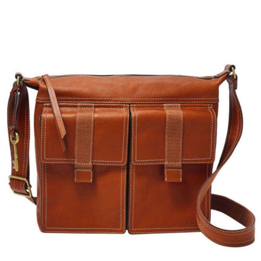 Fossil Women's Cargo Crossbody Brown Bag ZB7970213
