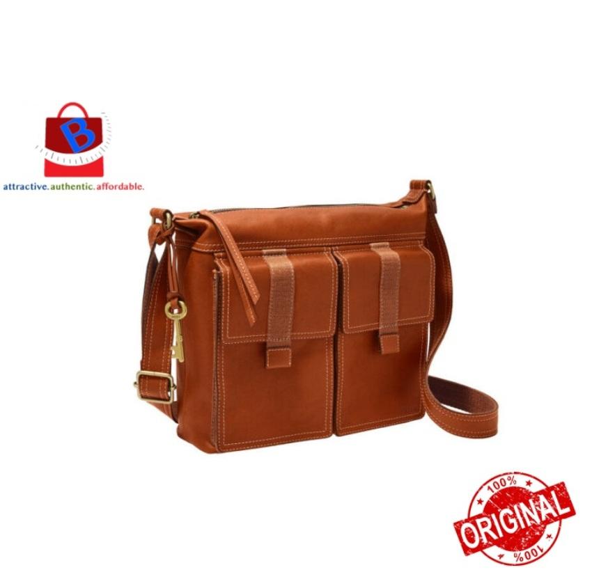 Fossil Women\'s Cargo Crossbody Brown Bag ZB7970213