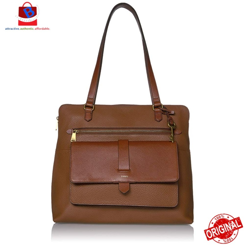 Fossil Women's Kinley Tote bag brown ZB7893200