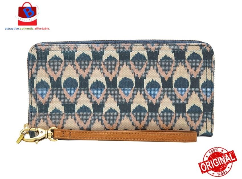 Fossil Logan ZIP Around Clutch Women's Wallet SL6308469