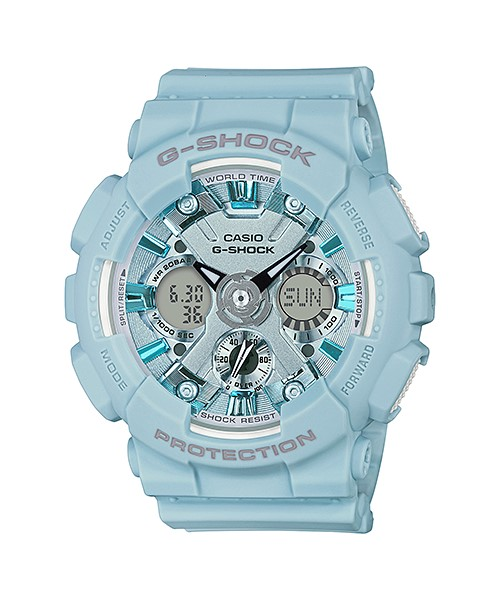 Casio G-Shock GMA-S120DP-2ADR Original S-Series Women\'s Watch GMA-S120DP-2A / GMA-S120DP-2 / GMA-S120DP