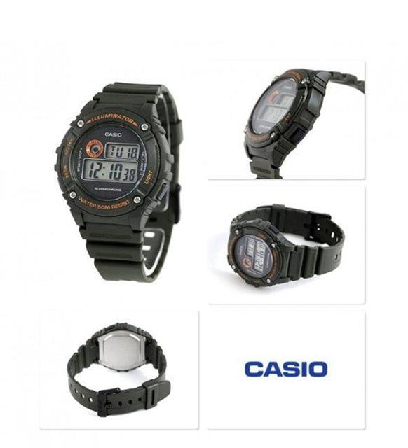 Casio W-216H-3BVDF Original & Genuine Watch