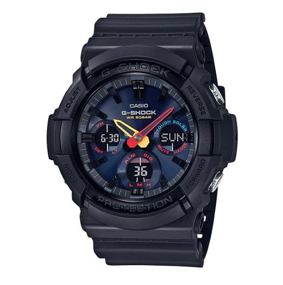 Casio G-Shock GAS-100BMC-1ADR Black x Neon Digital Watch GAS-100BMC-1AD / GAS-100BMC-1A / GAS100BMC