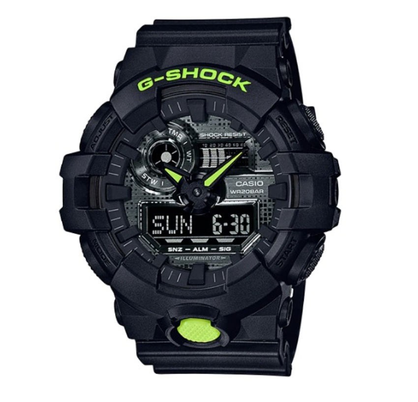 Casio G-Shock GA-700DC-1ADR SPECIAL Color Models Watch GA-700DC-1AD / GA-700DC-1A / GA-700DC-1 / GA-700DC