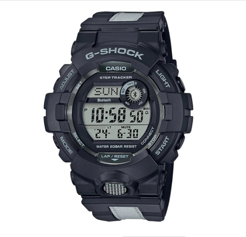 Casio G-Shock GBD-800LU-1DR Reflective Band Watch GBD-800LU-1D / GBD-800LU-1 / GBD-800LU