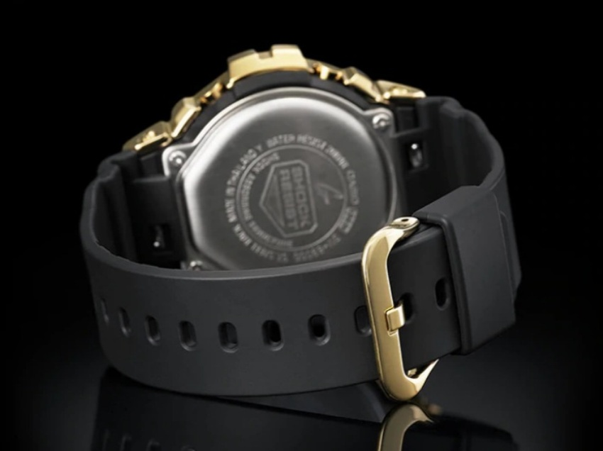 Casio G-Shock GM-6900G-9DR Men Gold Metal Watch GM-6900G-9D / GM-6900G-9 / GM-6900G