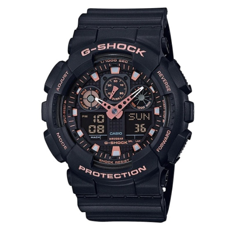 Casio G-Shock GA-100GBX-1A4DR Special Color Models Watch GA-100GBX-1A4D / GA-100GBX-1A4 / GA-100GBX-1A / GA-100GBX-1 / GA-100GBX