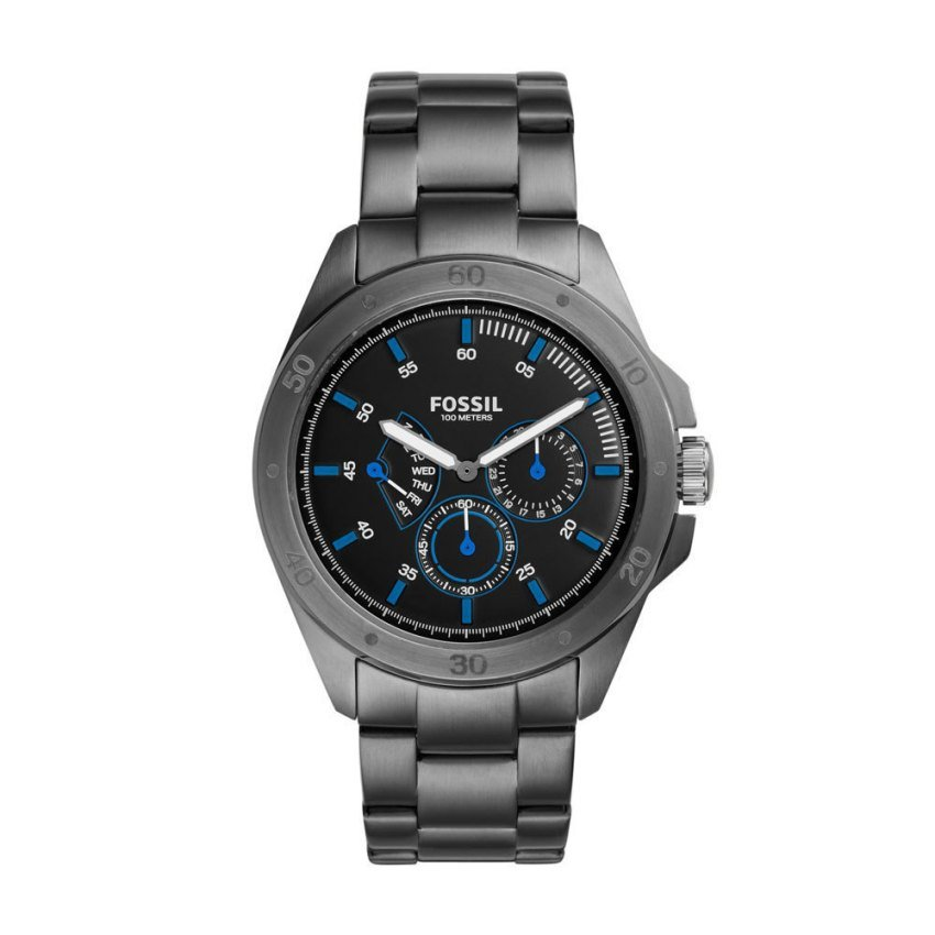 FOSSIL CH3035 Multifunction Smoke Stainless Steel Watch
