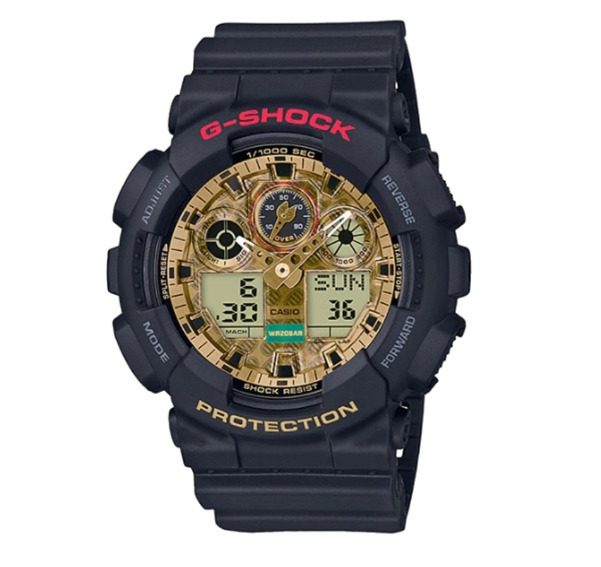 Casio G-Shock GA-100TMN-1AJR Limited Models Beckoning Cat Watch GA-100TMN-1AJ / GA-100TMN-1A / GA-100TMN-1 / GA-100TMN