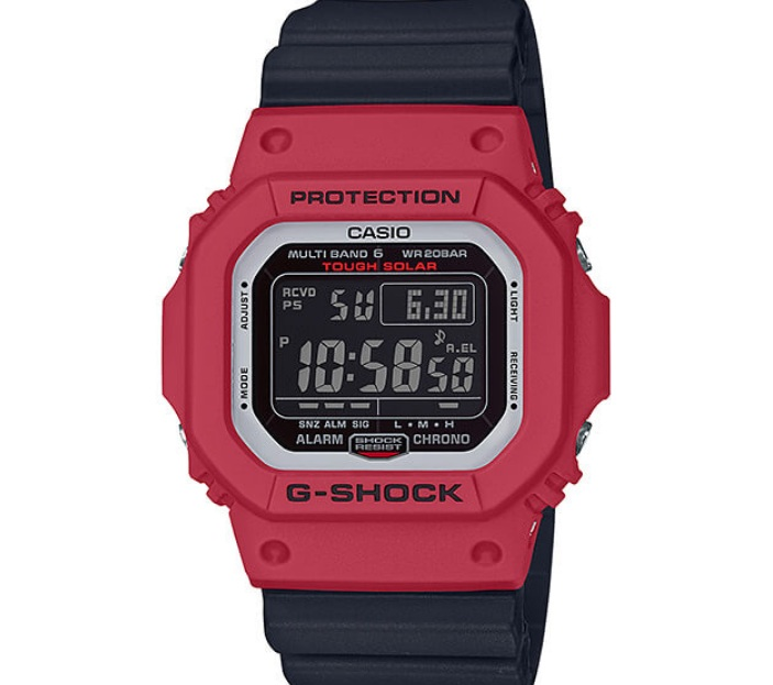 (EURO SET) Casio G-Shock GW-M5610RB-4ER Origin Series Deadpool Men\'s Digital Watch GW-M5610RB-4E / GW-M5610RB-4 / GW-M5610RB