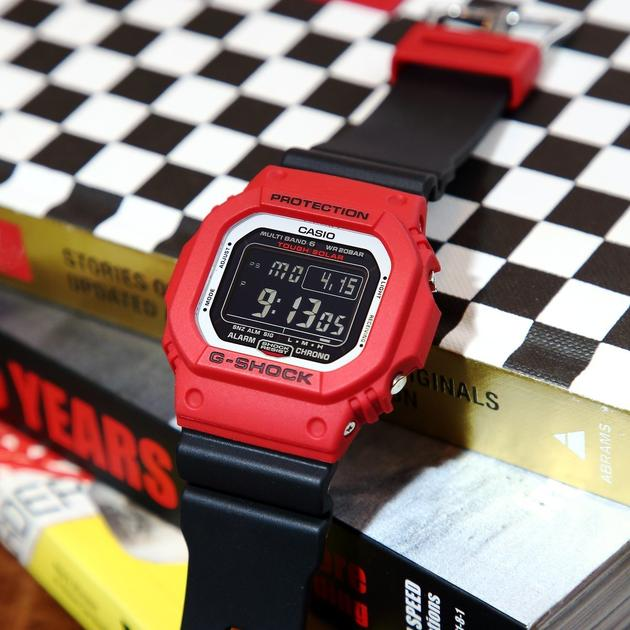 (EURO SET) Casio G-Shock GW-M5610RB-4ER Origin Series Deadpool Men's Digital Watch GW-M5610RB-4E / GW-M5610RB-4 / GW-M5610RB