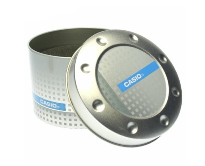 Casio original Round Tin Watch Gift Box TO-MCAA1-1