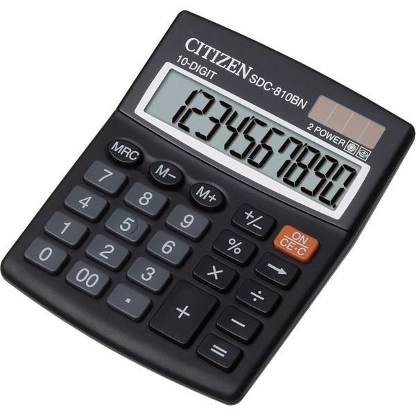 SDC-810NR  Citizen Calculator