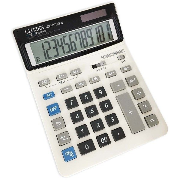 SDC-8780LII Citizen calculator