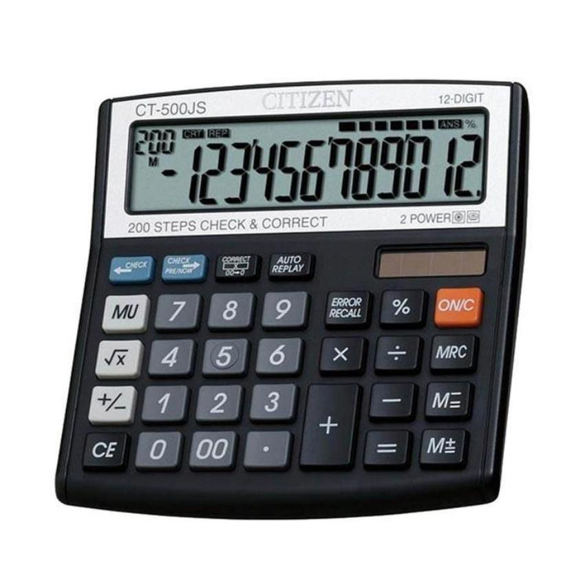 CT-500JS Citizen calculator company
